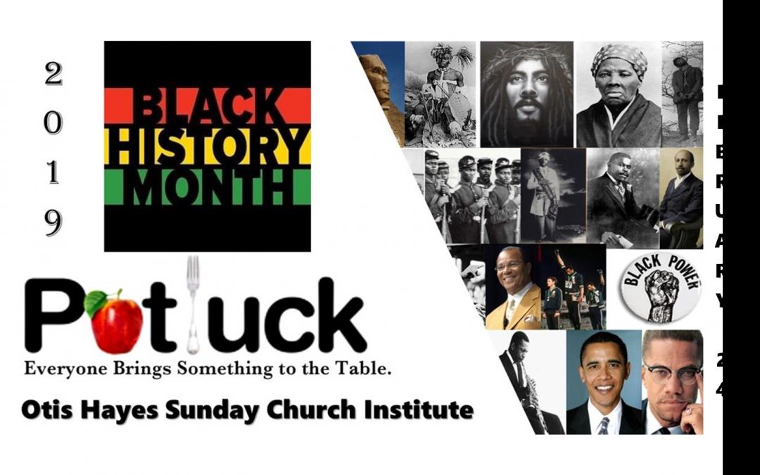 Black History Potluck
