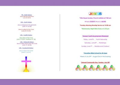 Easter Eggstravaganza Program 04