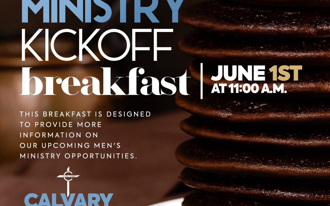 Men's Kickoff Breakfast