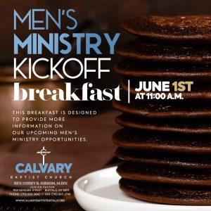 Men's Ministry Kickoff Breakfast