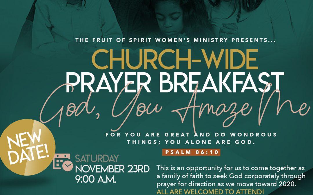 10th Annual Prayer Breakfast