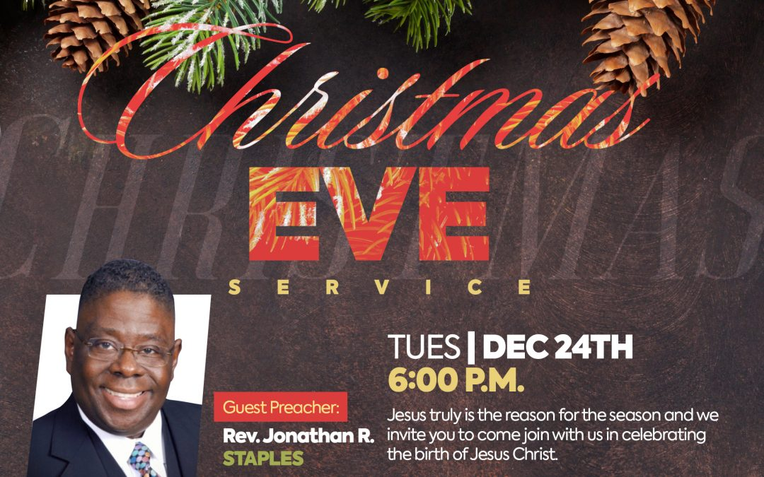 Worship Service: Christmas Eve