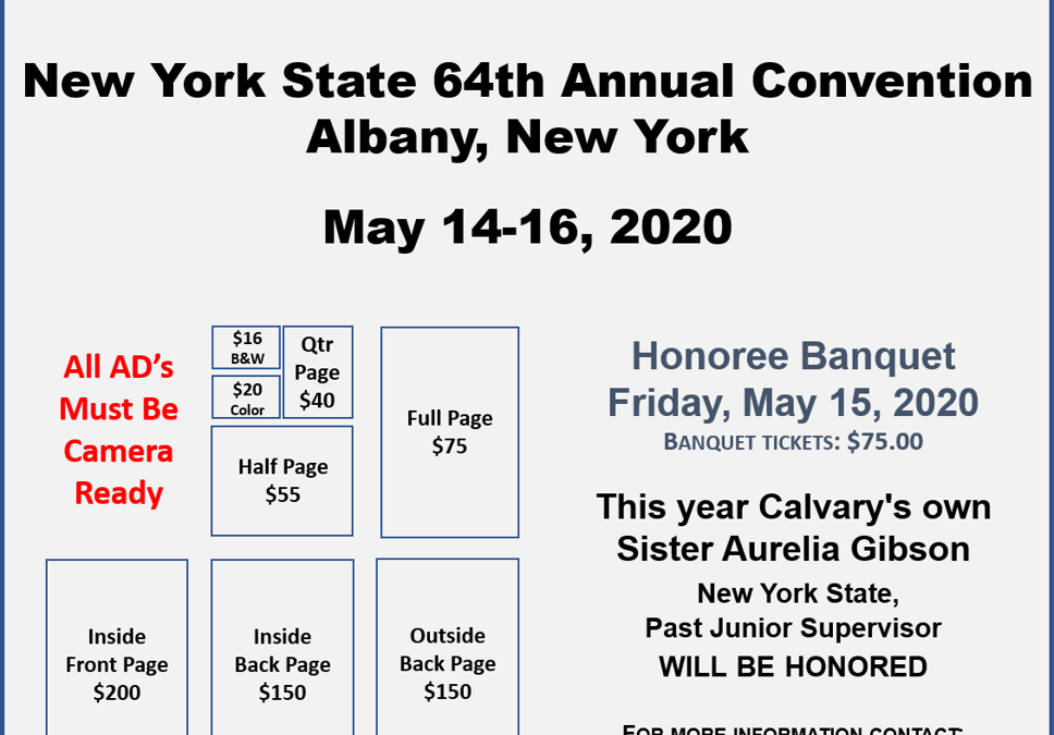 New York State 64th Annual Convention